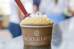 Bacio di Latte dá gelato de graça no Riopreto Shopping