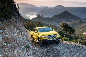 Picape Mercedes-Benz Classe X é apresentada na África